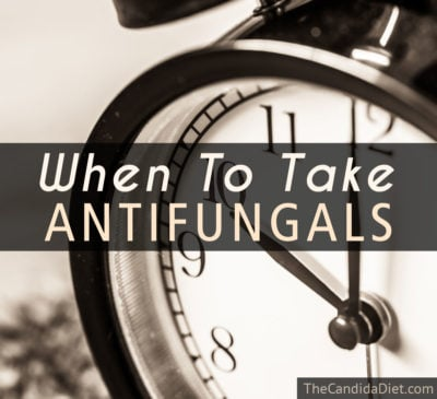 how long to take antifungal