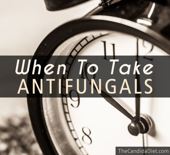 The best time to take antifungals