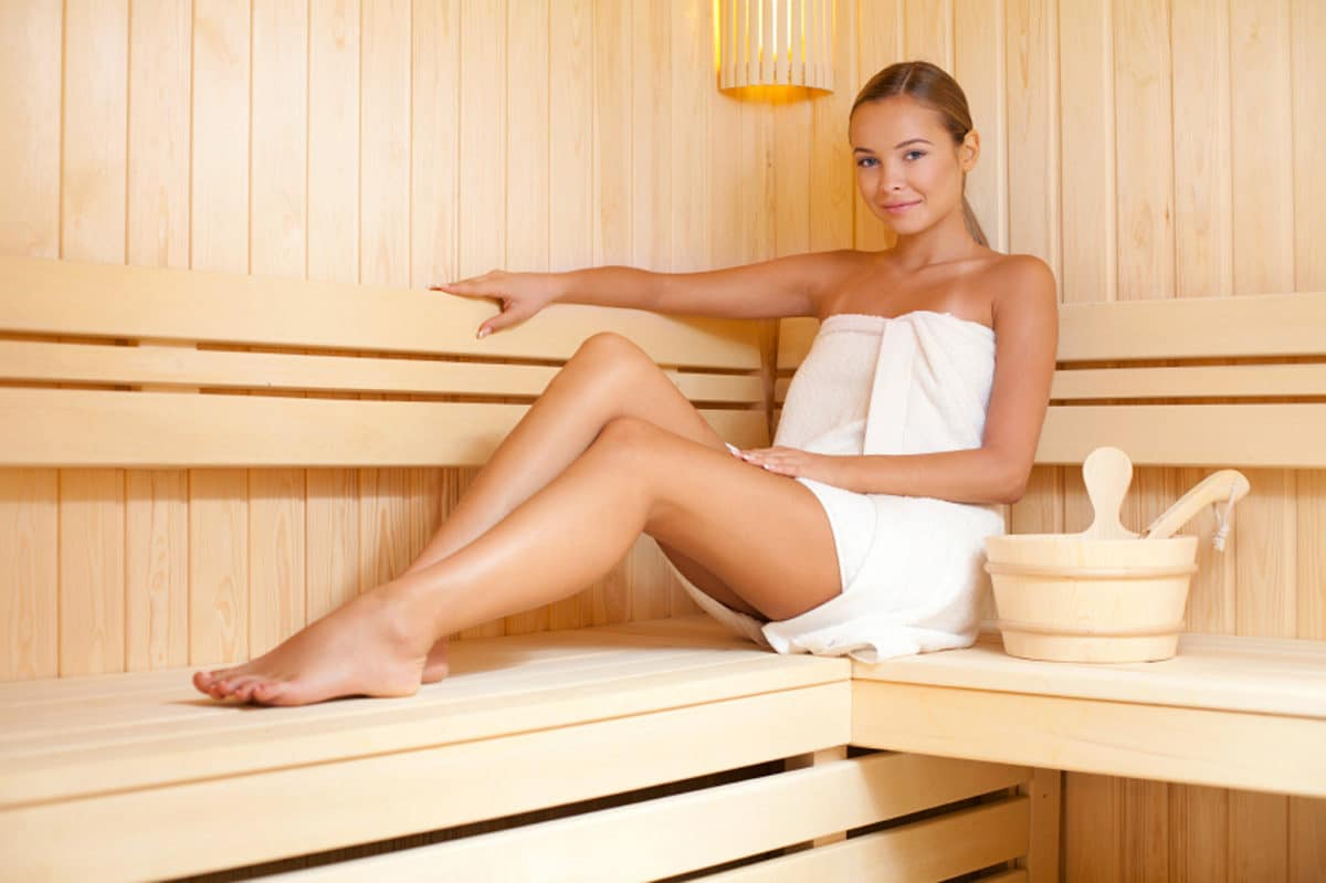 Sauna is a great way to detox and remove Candida toxins