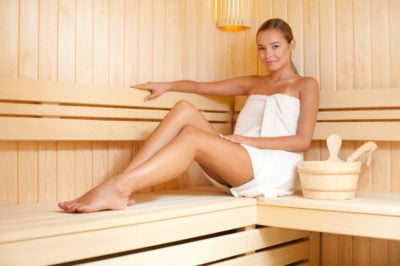 Sauna is a great way to detox