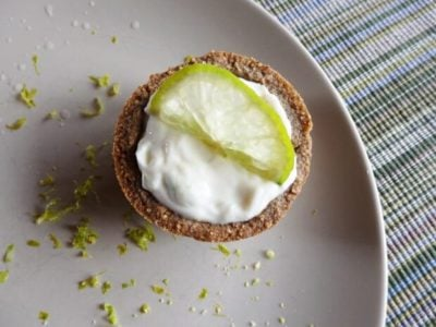 Lemon lime tarts