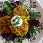 Quinoa and Rutabaga Patties
