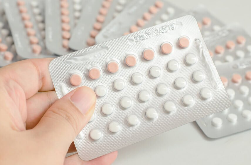 Prolonged continuous birth control use