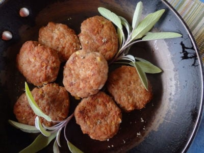 Turkey and Sage Breakfast Patties