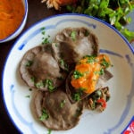 Buckwheat Ravioli with Ajvar