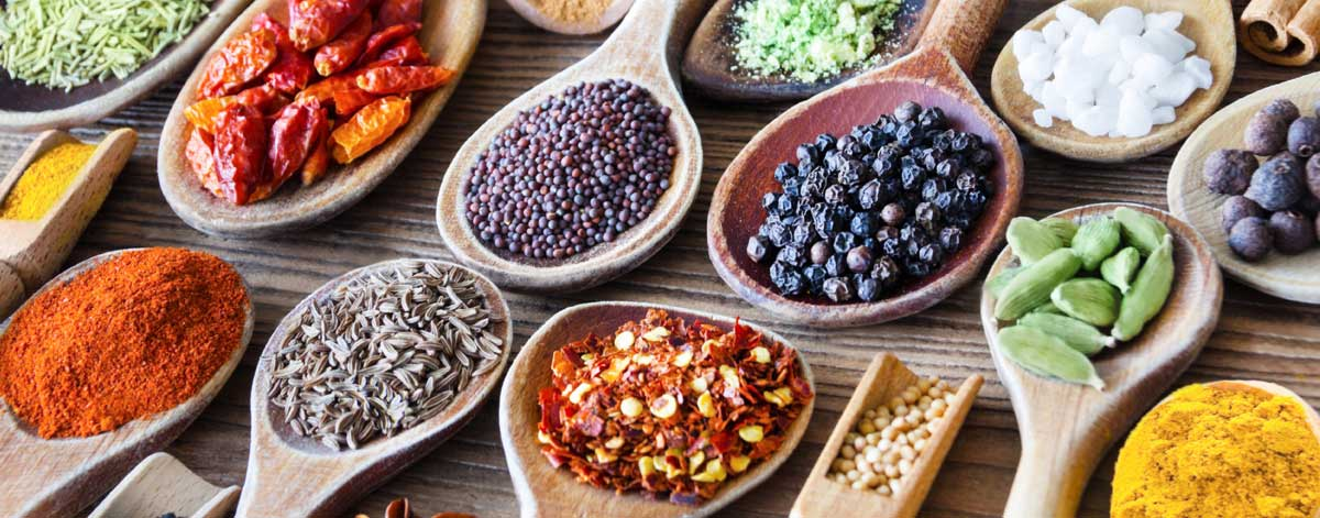 Herbs and spices on the Candida list of foods to eat