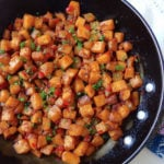 This smoky rutabaga hash is perfect for breakfast or as a side dish, and the rutabaga has antifungal properties to boost your gut health.