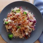 Asian Chicken and Cabbage Salad for the Candida diet