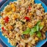 Millet and Grilled Vegetable Salad on the Candida Diet