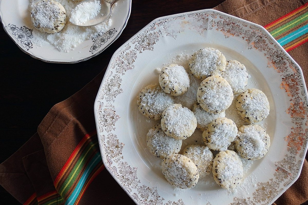 Lemon coconut cookies with stevia