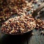 Wild quinoa: a low-carb grain