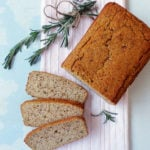 Rutabaga and Rosemary Bread